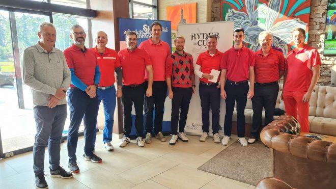 JUDr. Václav Vlk se úspěšně zúčastnil 1. ročníku Ryder Cup